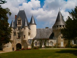 The chateau in Chef Boutonne
